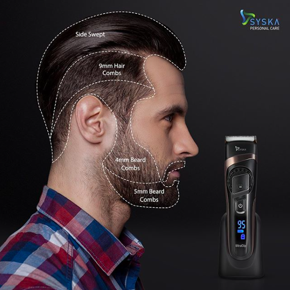 So many styles, so many blades, only one Trimmer. Get your grooming game on by perfecting your facial hair.
